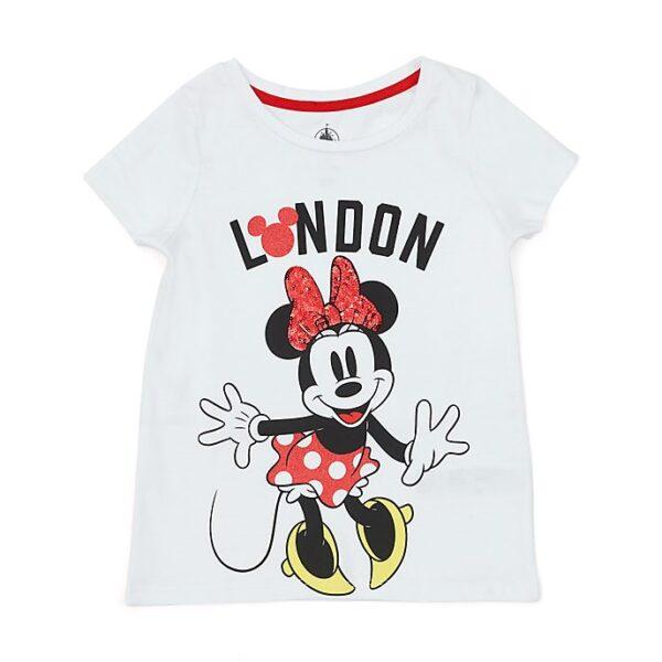 Tricou pentru copii Minnie Mouse London