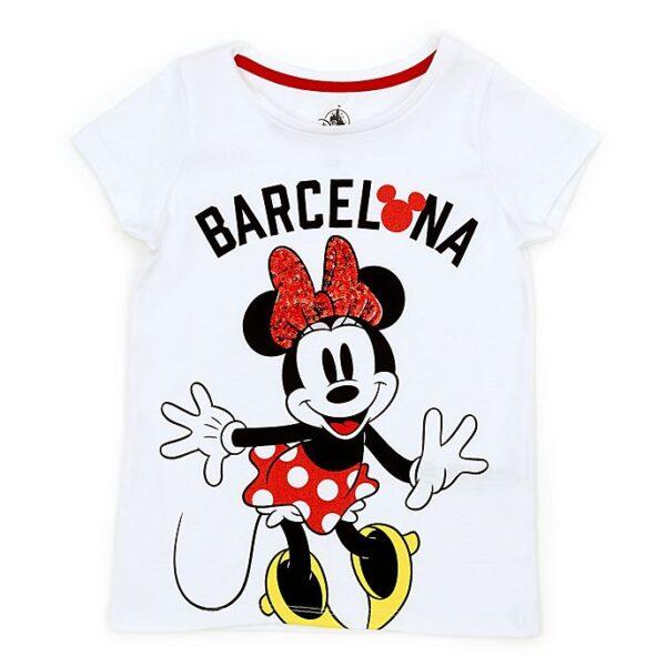 Tricou pentru copii Minnie Mouse Barcelona