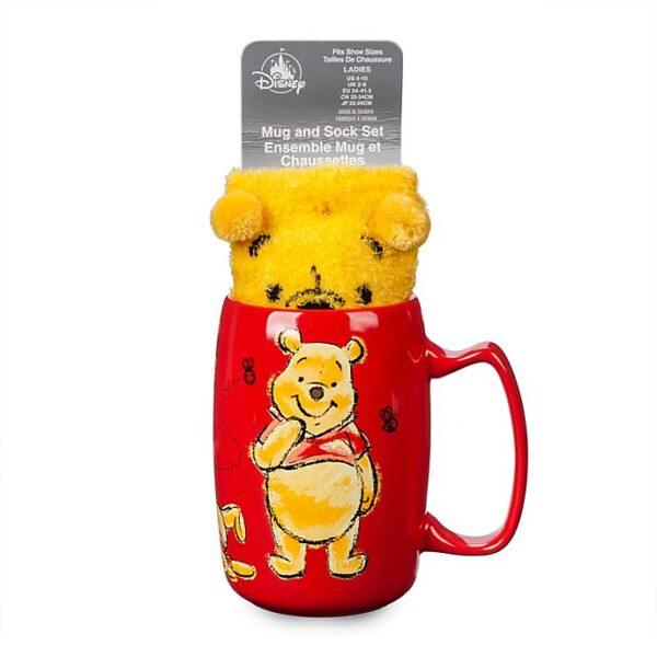 Set cana si sosete Winnie the Pooh