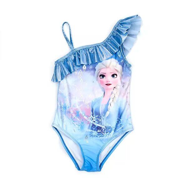 Costum de baie intreg Elsa  - Frozen 2