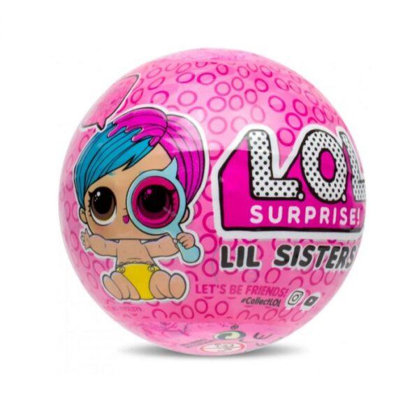 Papusa L.O.L. Lil Sister 4 Wave 2