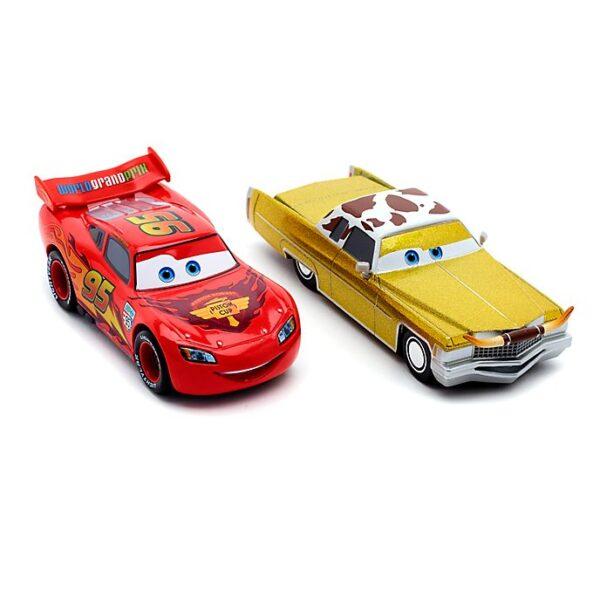 Set de 2 masinute Fulger McQueen si Tex Dinoco