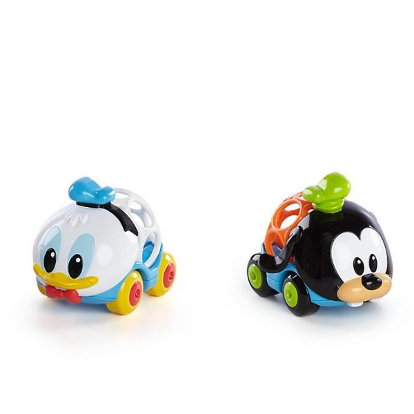 Set 2 masinute Donald Duck și Goofy