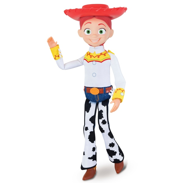 Cowgirl Jessie Deluxe Pull-String 35cm Acțiune Figura Toy Story 4