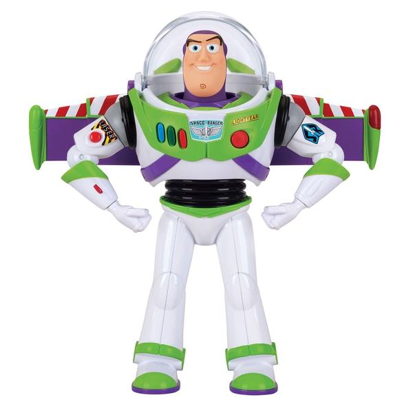 Buzz Lightyear Deluxe Space Ranger Talking 30cm Figura de acțiune Toy Story 4