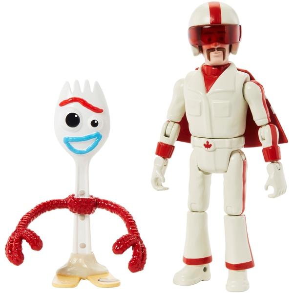 Duke Caboom și Forky Figuri de acțiune Disney Pixar's Toy Story 4