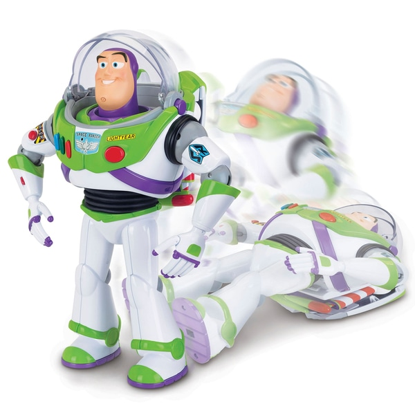 Buzz Lightyear cu Interactive Drop-Down Acțiune 30cm Figura Toy Story 4