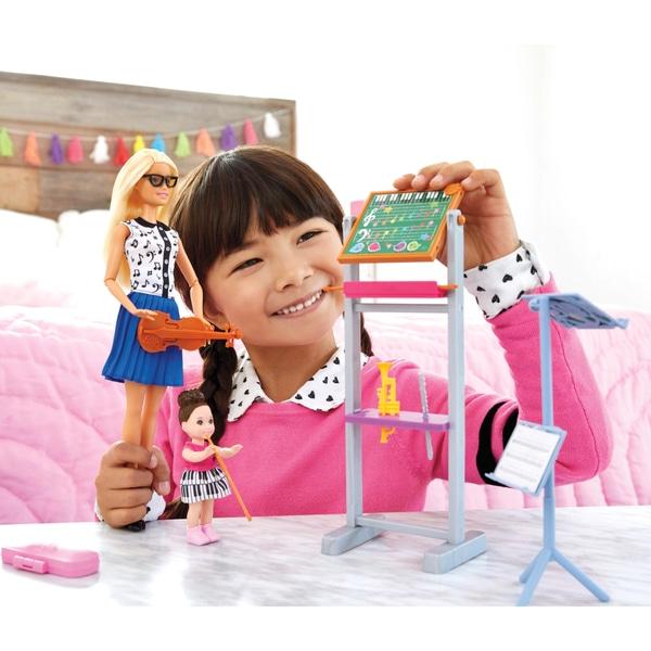 Barbie Cariera Profesor Doll Muzica Playset