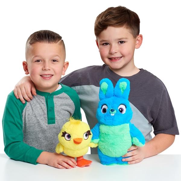 Toy Story 4 Ducky și Bunny Talking Plush