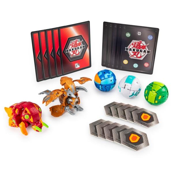 Bakugan Battle 5-Pack - Aurelus Cloptor și Pyrus Trhyno