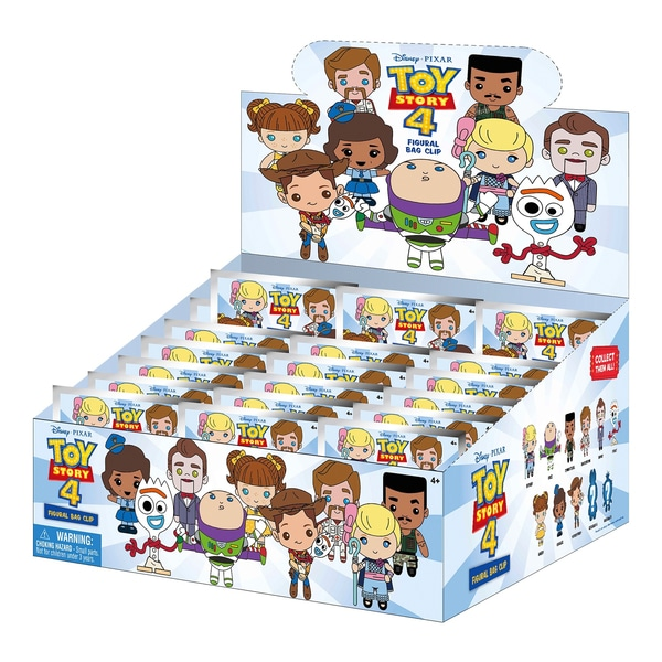3D Colectabile KeychainToy Story 4 Sortiment