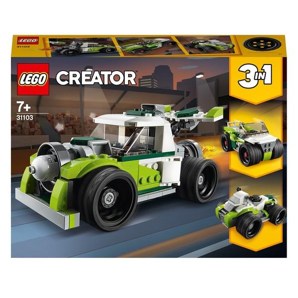 LEGO 31103 Creator 3in1 Rocket Truck-Off Roader- Quad Bike Set