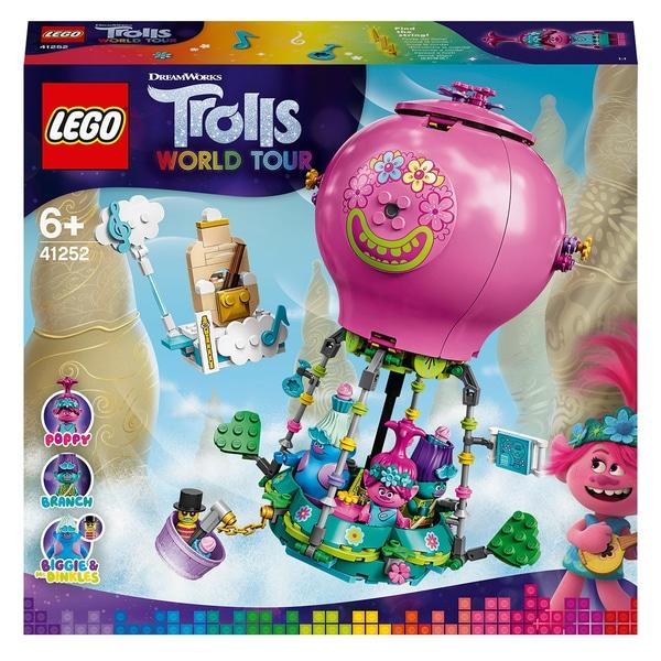 LEGO 41252 Trolls World Tour Poppy's Hot Air Balloon Adventure Playset