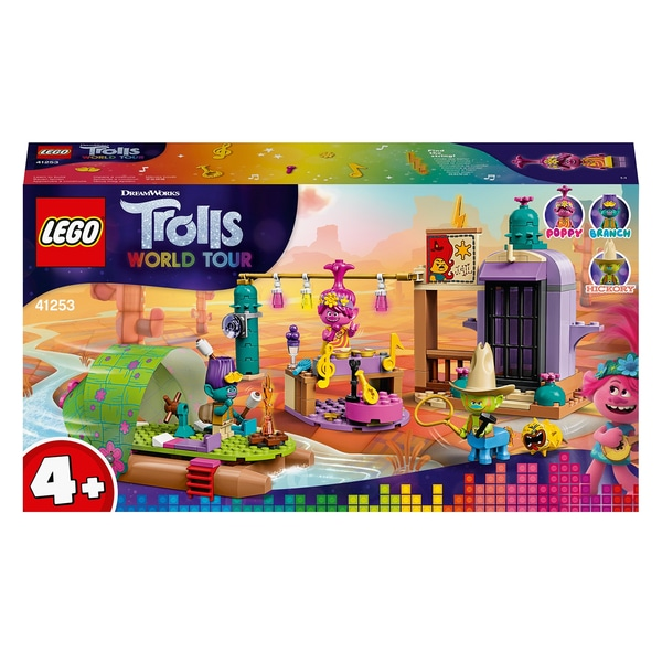 LEGO 41253 Trolls World Tour 4+ Lonesome Flats Raft Adventure Playset