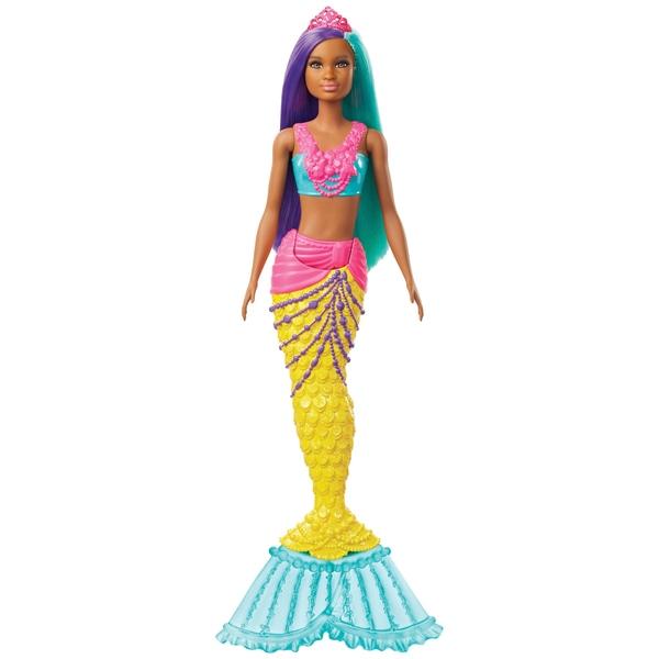 Barbie Dreamtopia Mermaid Doll (Violet și Teal)