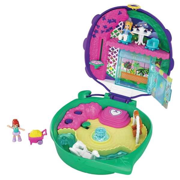 Polly Pocket Lil 'Ladybug Garden Compact Playset