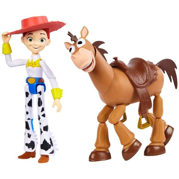Disney Pixar Toy Story Jessie și Bullseye 2 Pack Cifre de acțiune