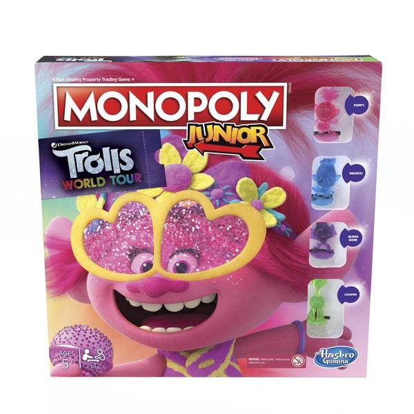 Monopoly Junior: DreamWorks Trolls World Tour Edition Joc de bord