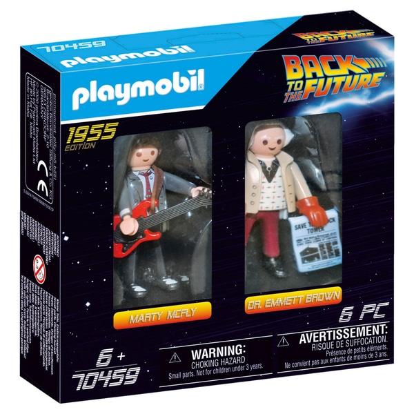 Playmobil 70459 Înapoi la viitorul Marty McFly & Doctor Emmett Brown