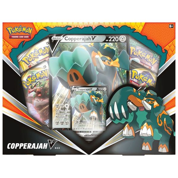 Pokémon Trading Card Joc: Copperajah-V Box