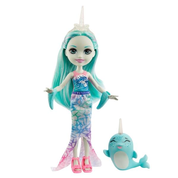 Enchantimals Naddie Narwhal Doll