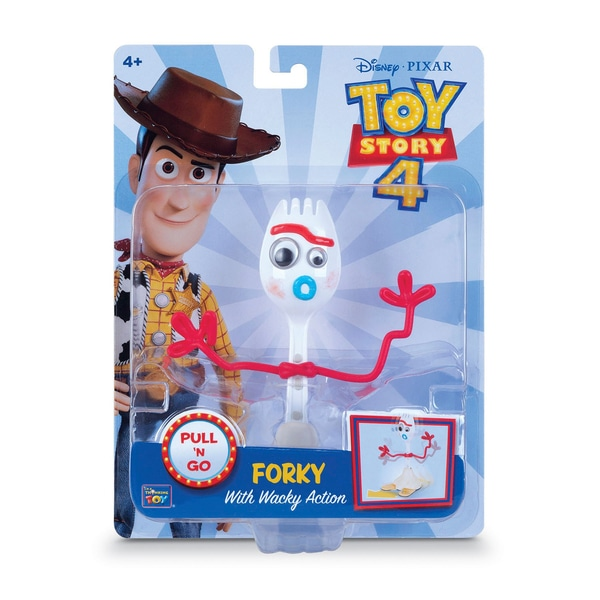 Toy Story 4 Retractabil 15cm Figura Forky