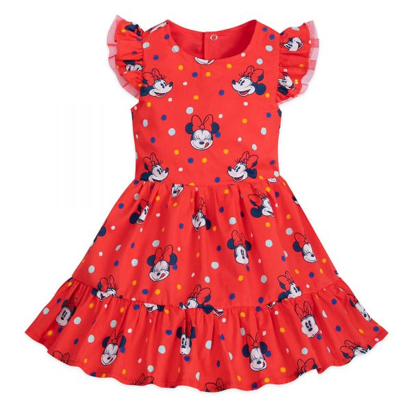 Disney Store Minnie Mouse Baby Dress și Bloomers Set