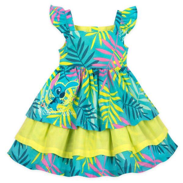 Disney Store Stitch Baby Dress și Bloomers Set
