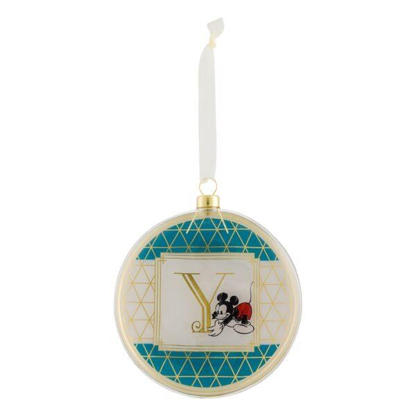 Disneyland Paris Hanging Ornament - Litera Y