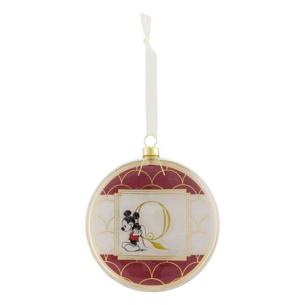 Disneyland Paris Hanging Ornament - Litera Q
