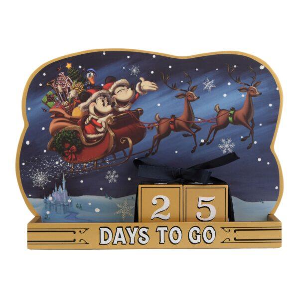 Disneyland Paris Mickey și Minnie Crăciun Countdown