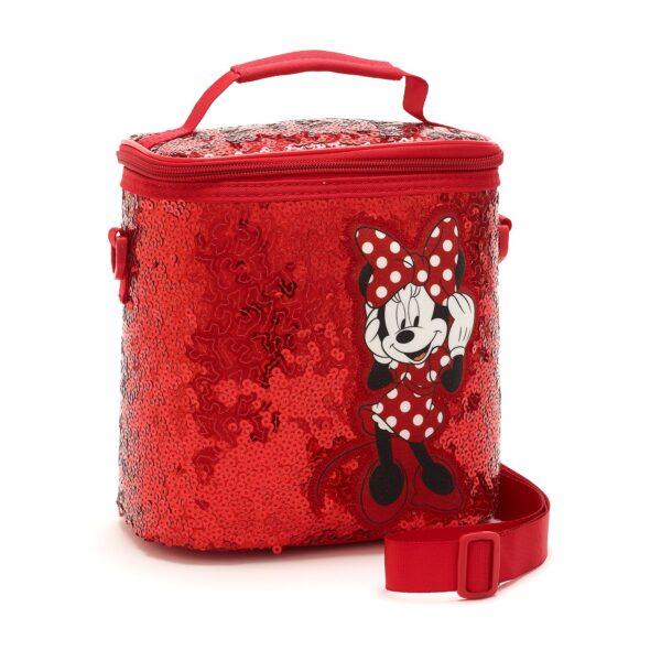 Disney Store Minnie Mouse Sequin Prânz Bag
