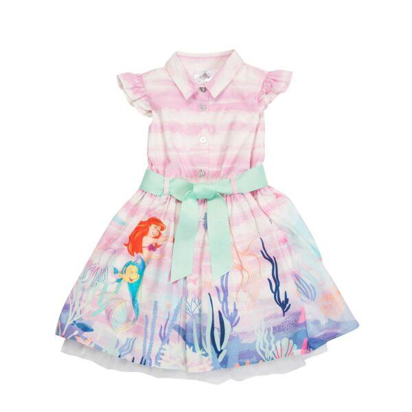 Disney Store Little Mermaid imprimate Rochie pentru copii