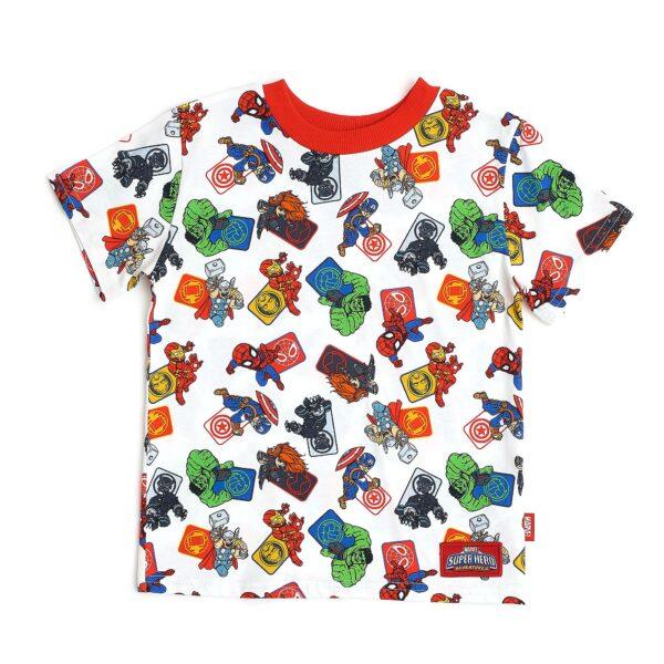 Disney Store Avengers Alb T-Shirt pentru copii