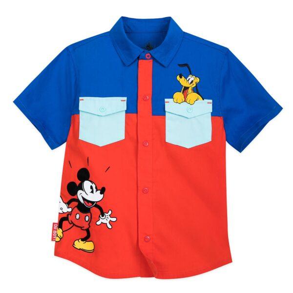 Disney Store Mickey și Pluto Cămașă pentru copii