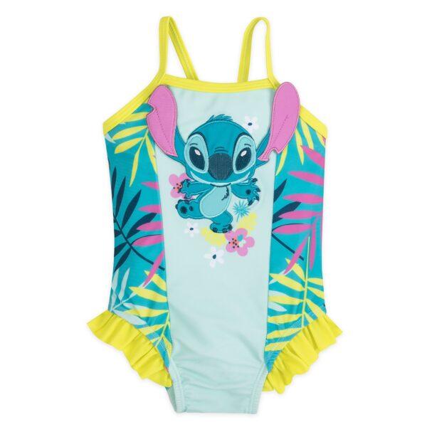 Disney Store Stitch Baby Costum de înot