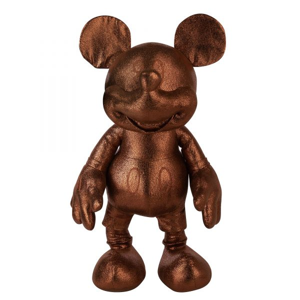Disney Store Mickey Mouse Bronz Mare Jucărie Moale