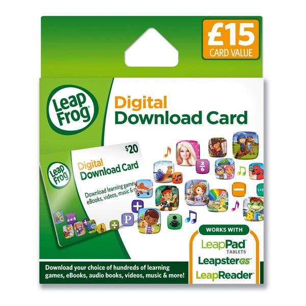 LeapFrog App Download Card - £ 15