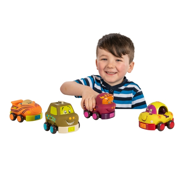 B. Wheee-is, Soft Push Cars