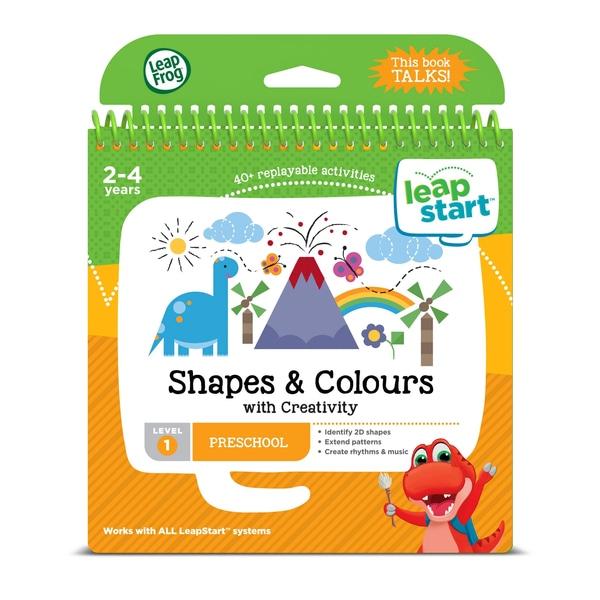 LeapFrog LeapStart Carte de activitate preșcolară: Forme, Culori & Creative Expr