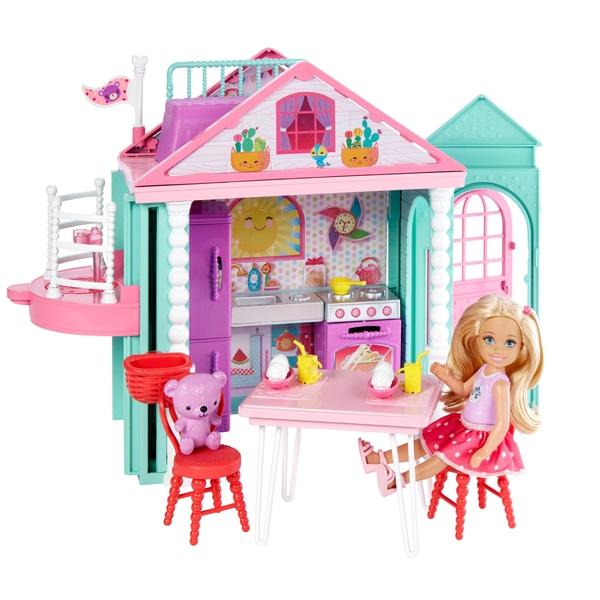 Barbie Club Chelsea Playhouse Doll Set