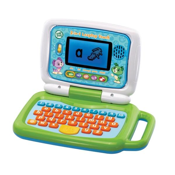 LeapFrog 2 în 1 LeapTop Touch Laptop Verde