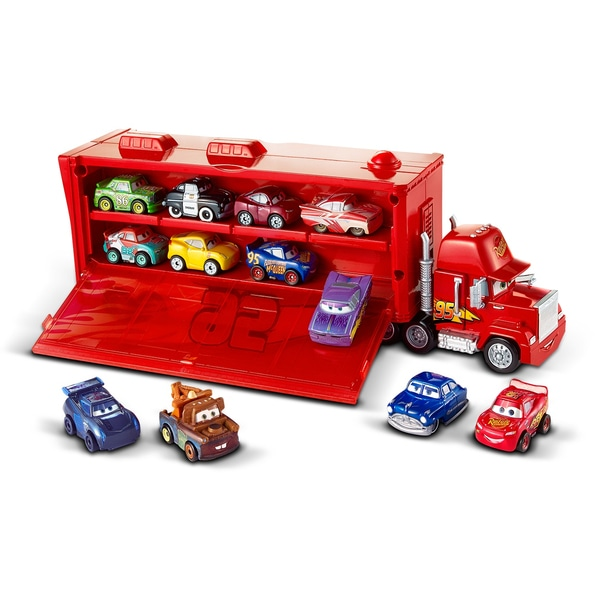 Disney Pixar Cars Mini Racers Mack Transporter Cars Jucărie