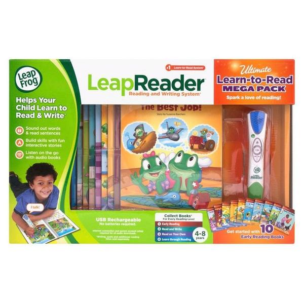 LeapFrog LeapReader Aflați pentru a citi Megapack