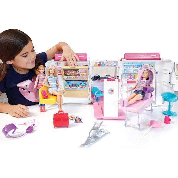 Barbie Care Clinica vehicul