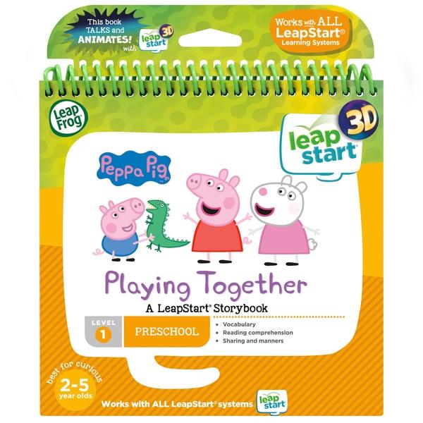LeapFrog LeapStart Peppa Pig 3D Story Book
