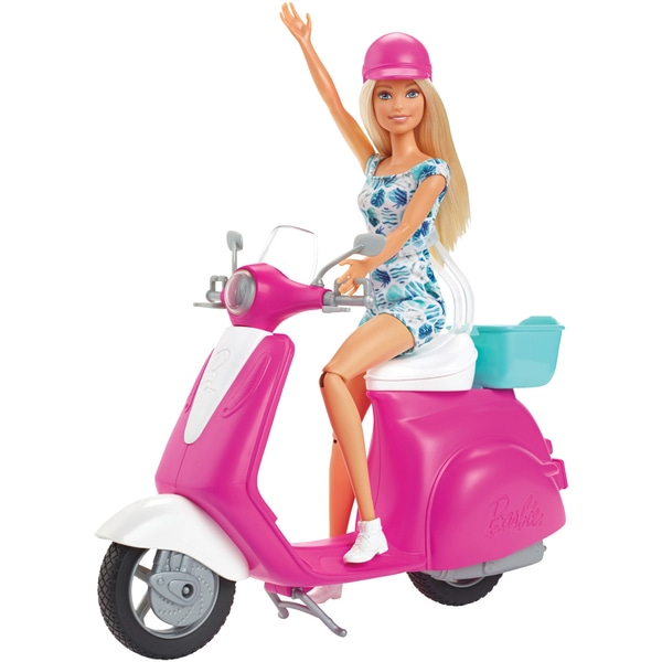 Barbie Doll & Scooter