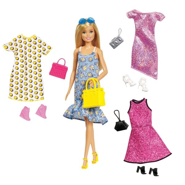 Papusa Barbie cu moda si accesorii