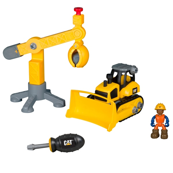 CAT' Machine Maker Junior Operator Site-ul de lucru set Sortiment