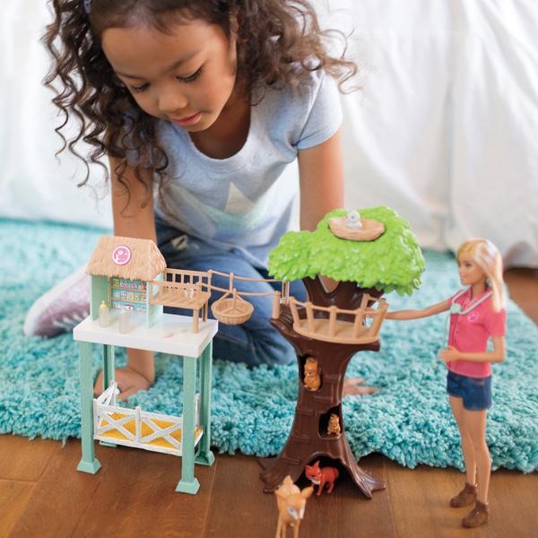 Barbie Animal Rescuer Doll și Playset